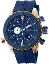 Brera Orologi Sottomarino BRDVC4707 Rose Gold & Blue Dial Men's Watch