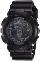 Casio Men's G-Shock GA100CF-1A Digital Resin Quartz Watch