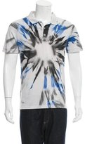 Raf Simons Tie-Dye Polo Shirt