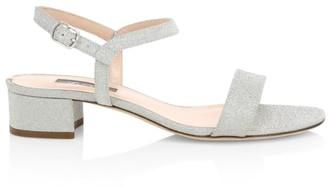 Sarah Jessica Parker Townsend Glitter Sandals