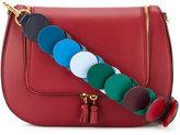 Anya Hindmarch Burgundy 'Vere' link strap satchel