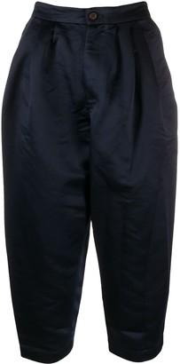 Comme des Garçons Comme des Garçons Cropped Tapered Trousers