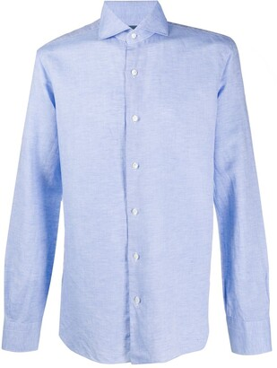 Barba Button-Up Long Sleeved Shirt