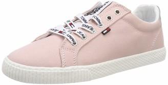 Tommy Jeans Hilfiger Denim Women's Casual Sneaker Low-Top