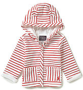 Joules Baby Newborn-18 Months Baby Cuddle Striped Animated Ears Hooded Jacket