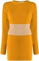Marni Ribbed-Waist Longline Sweater