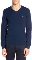 Lacoste Fancy Stitch Slim Fit Knit Sweater