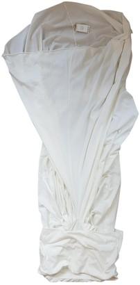 Rick Owens White Cotton Dresses
