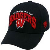 Top of the World Adult Wisconsin Badgers Whiz Adjustable Cap