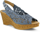Spring Step Abigail Slingback Wedge Sandals