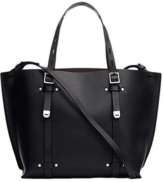 Rag & Bone Mini Field Tote (Black) Handbags