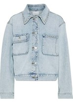 Topshop Studded Denim Jacket | Nordstrom