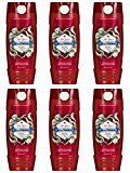 Old Spice Wild Collection Men's Body Wash, Wolfthorn, 16.0 Fluid Ounce (Pack of 6)