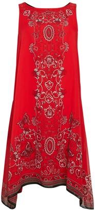 Max Studio Print Trapeze Dress