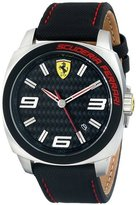 Ferrari Men's 0830163 Aero Evo Analog Display Quartz Black Watch