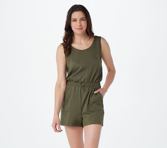zuda Z-Eco Mixed Mesh Romper