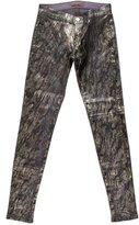 J Brand Snake Print Skinny Jeans
