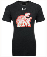 Under Armour Men's Maryland Terrapins Tri-Blend T-Shirt
