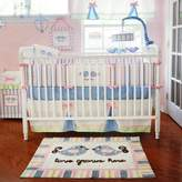 My Baby Sam Love Grows Here 4 Piece Crib Bedding Set