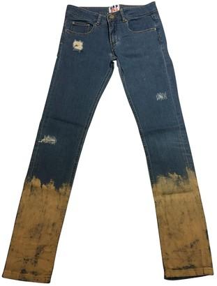 Filles a papa Blue Cotton - elasthane Jeans