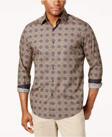 Tasso Elba Men's Medallion Shirt, Created for Macy's