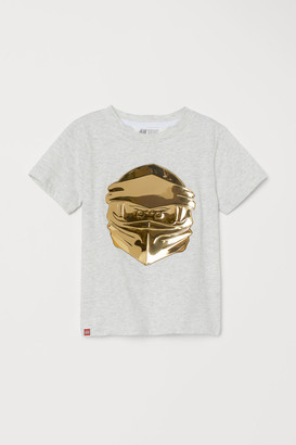 H&M Interactive-design T-shirt - Gray