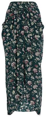 Isabel Marant Floral Ginkinali Midi Skirt