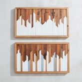 west elm Hemlock & Heather Wood Wall Hangings - Waterloo