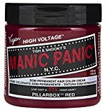 Manic Panic Semi-Permament Haircolor Pillarbox Red 4oz (2 Pack)