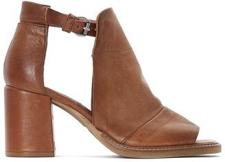Mjus Roxy Leather Block Heel Sandals