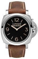 Panerai Men's PAM00372 Luminor Analog Display Mechanical Hand Wind Brown Watch
