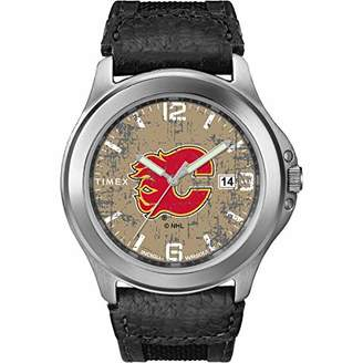 Timex Men's TWZHFLAMC Old School NHL Tribute Collection Watch