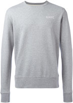 Saturdays NYC logo stamp sweatshirt - men - Cotton - L