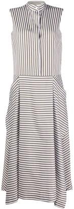 Mulberry Arya striped poplin dress