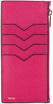 Valextra zipped cardholder wallet