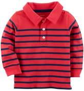 Carter's Baby Boy Striped Polo