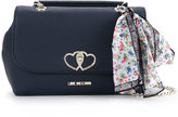Love Moschino scarf detail shoulder bag - women - PVC - One Size