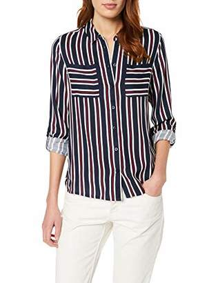 Street One 341085, womens Blouse, Multicoloured (Night Sky 397), UK (40 EU)