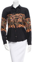 Etro Silk Abstract Print Blouse w/ Tags