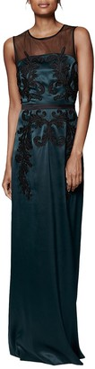 Phase Eight Collection 8 Gallia Embellished Dress, Green