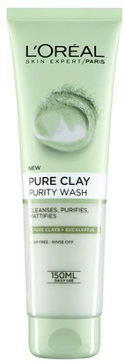L'Oreal Pure Clay Purity Foaming Wash 150Ml