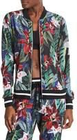 C&C California Floral Lightweight Woven Bomber Jacket