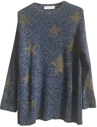 Valentino Blue Cotton Knitwear for Women