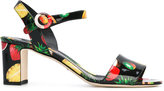 Dolce & Gabbana fruit print sandals