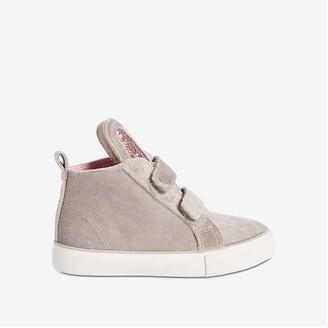 Joe Fresh Toddler Girls' Wedge Sneakers, Light Grey (Size 6)