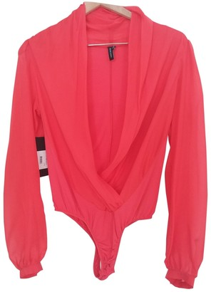 GUESS Red Silk Top for Women