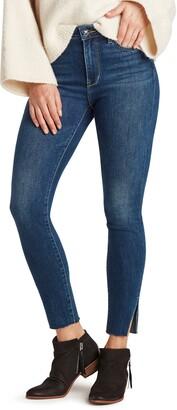 Sam Edelman The Stiletto High Waist Raw Hem Skinny Jeans