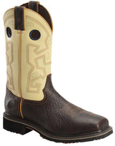 "Men's Double H 13"" Wide Square Composite Toe Western Work Boot"