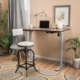 Christopher Knight Home Warren 48-inch Acacia Wood Adjustable Standing Desk with Duel Powered Base