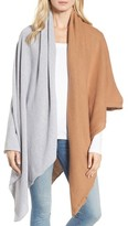Donni Charm Women's Chilly Colorblock Blanket Scarf